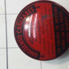 Cajas y cajitas metálicas: LATA DE UNGÜENTO CAÑIZARES AÑOS 60. Lote 61865108