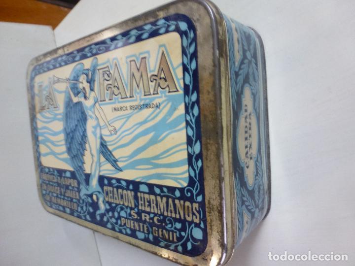 Cajas y cajitas metálicas: Caja metalica. Dulce de membrillo. La Fama. Puente Genil - Foto 3 - 62055664
