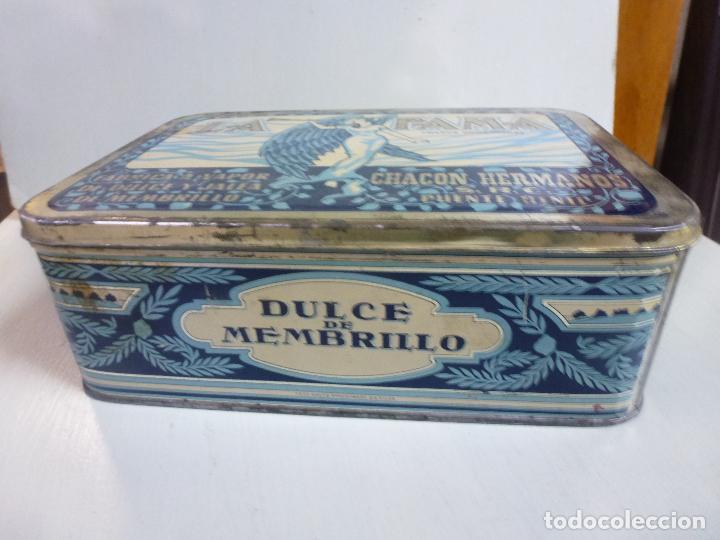Cajas y cajitas metálicas: Caja metalica. Dulce de membrillo. La Fama. Puente Genil - Foto 6 - 62055664