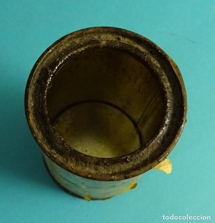 Cajas y cajitas metálicas: BOTE VACÍO DE PINTURA MARCA LACCARIN TINTE DE LUSTRE ROBLE CLARO - Foto 3 - 62298872