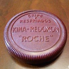 Cajas y cajitas metálicas: KINA REDOXÓN ROCHE. AÑOS 40 (BAQUELITA).. Lote 63456694