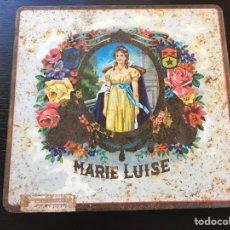 Cajas y cajitas metálicas: CAJA DE CIGARROS MARIE LUISE. Lote 63770135