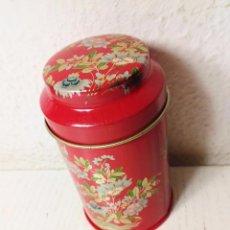 Cajas y cajitas metálicas: LATA PEQUEÑA TAMAÑO ESPECIERO MOTIVOS CHINOS. Lote 64082467