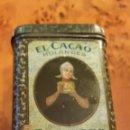 Cajas y cajitas metálicas: CAJA DE LATA (HOJALATA) DE CACAO HOLANDÉS BENSDORP.. Lote 64515794