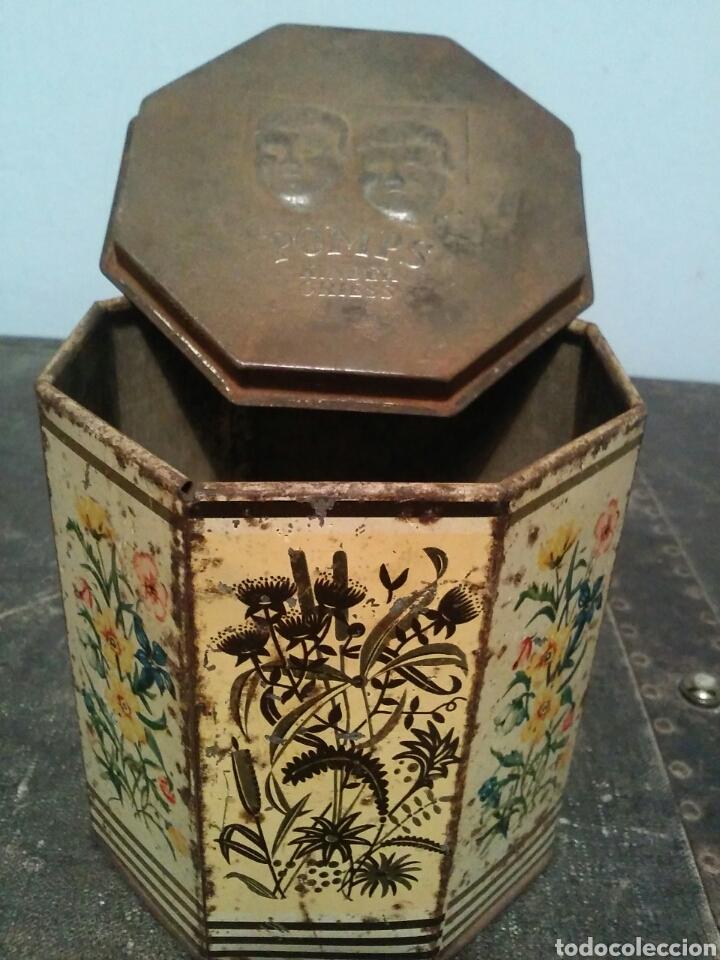 Cajas y cajitas metálicas: CAJA DE HOJALATA AÑOS 20 COMIDA PARA NIÑOS POMPS KINDER GRIESS - Foto 3 - 64797038
