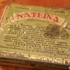 Cajas y cajitas metálicas: CAJA DE LATA LITOGRAFIADA,