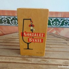 Cajas y cajitas metálicas: CAJA EN MADERA PUBLICIDAD GONZALEZ BYASS JEREZ CHERRY . Lote 66238674