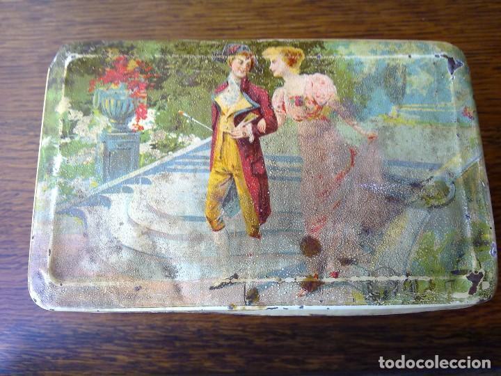 Cajas y cajitas metálicas: CAJA DE HOJALATA G. ANDREIS BADALONA DOS - Foto 4 - 66834290