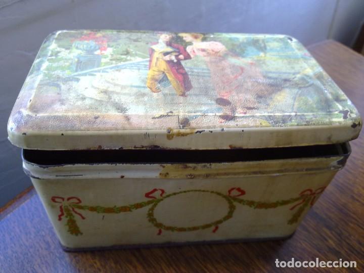 Cajas y cajitas metálicas: CAJA DE HOJALATA G. ANDREIS BADALONA DOS - Foto 9 - 66834290
