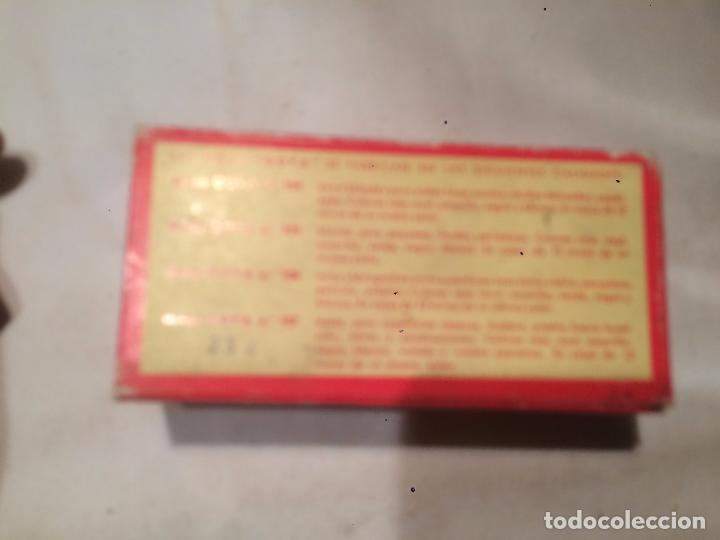 Cajas y cajitas metálicas: Antigua caja de mina / minas marca Goya con contenido fabricado por Hassinger S.A. Barcelona - Foto 4 - 66932942