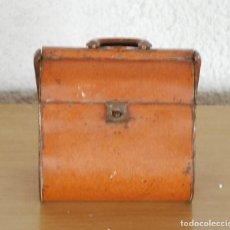 Cajas y cajitas metálicas: CAJA BOLSO METAL - LA CUBANA - FABRICA DE GALLETAS, DULCES Y CHOCOLATES BADAJOZ . Lote 67292025