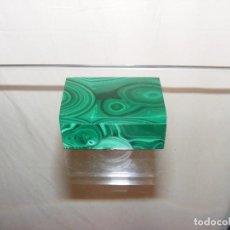 Cajas y cajitas metálicas: CAJA MALAQUITA. Lote 67381849