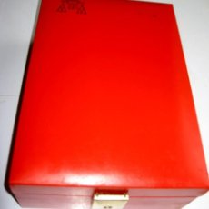 Cajas y cajitas metálicas: ESTUCHE CARDENAL MENDOZA EN POLIPIEL.. Lote 67655549