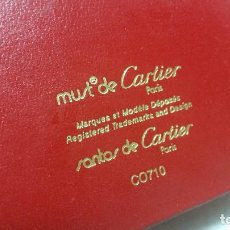 Cajas y cajitas metálicas: CAJA DE CARTIER PARA GAFAS MUST DE CARTIER PARIS. Lote 67872829