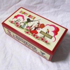 Cajas y cajitas metálicas: CAJA JOYERO DE MÚSICA JAPONESA HAPPY MATE DE LADY MATE FUNCIONANDO. Lote 68416669