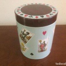 Cajas y cajitas metálicas: CAJA DE HOJALATA - BOMBONES GOYA. Lote 69066317