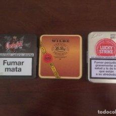 Cajas y cajitas metálicas: CAJA DE HOJALATA - TABACO . Lote 69067489