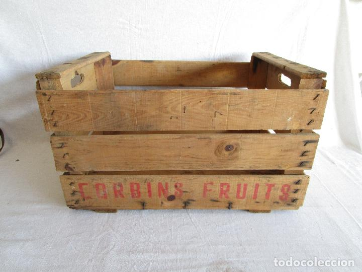 Caja original de madera de poner frutas o verdu comprar - Donde conseguir cajas de madera ...