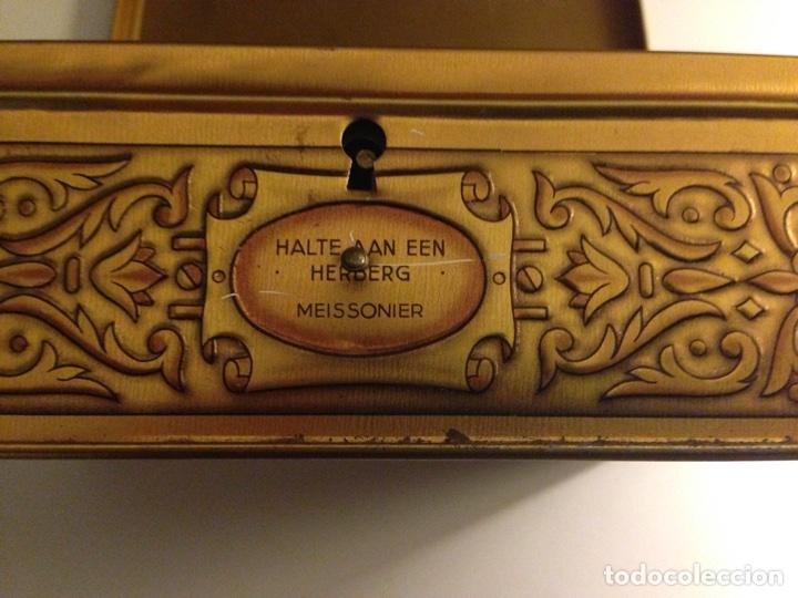 Cajas y cajitas metálicas: Bonita Caja de Hojalata Litografiada,- - Foto 4 - 69785341