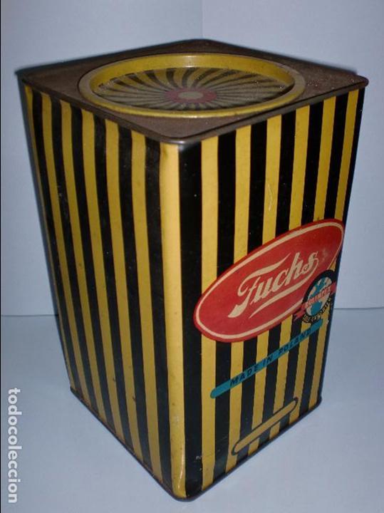 Cajas y cajitas metálicas: CAJA METALICA. FUCHS. MADE IN POLAND. 25,5 X 15,3 X 15,3 CM - Foto 3 - 69831737