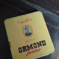 Cajas y cajitas metálicas: CAJA TABACO LATA ORMOND. Lote 70011237