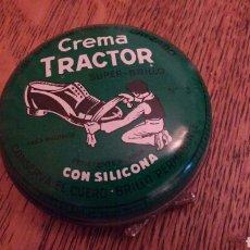 Cajas y cajitas metálicas - Caja hojalata. Crema Tractor con crema. 8 cm Ø - 70499781
