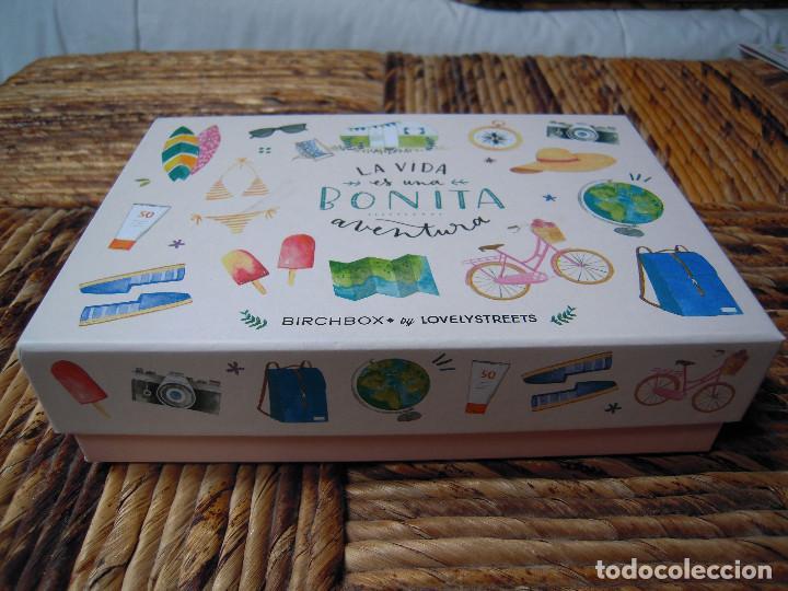 CAJITA BIRCHBOX BY LOVELYSTREETS VACÍA (Coleccionismo - Cajas y Cajitas Metálicas)