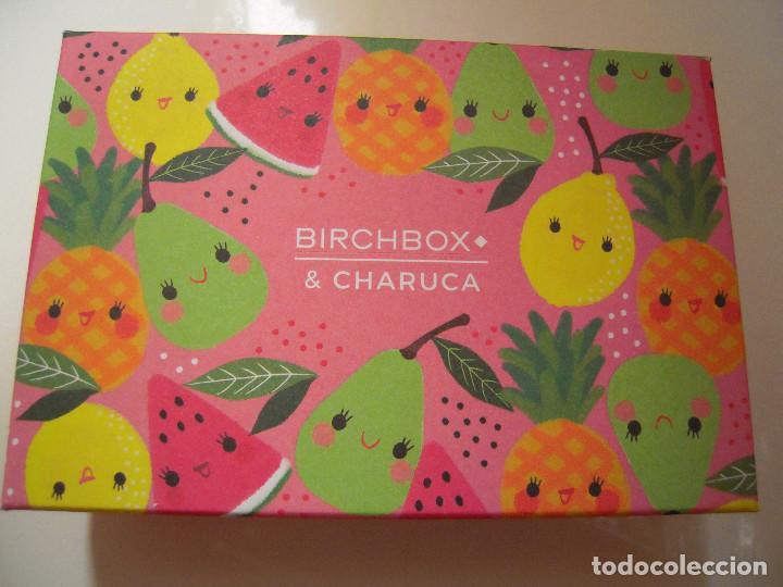 CAJITA VACÍA BIRCHBOX CHARUCA (Coleccionismo - Cajas y Cajitas Metálicas)