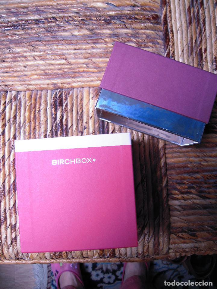 Cajas y cajitas metálicas: Cajita vacía Birchbox original - Foto 3 - 71119005