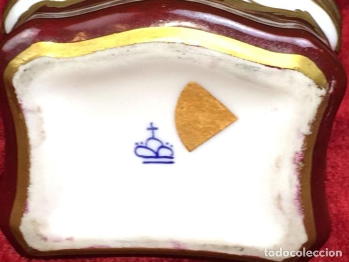 Cajas y cajitas metálicas: CAJITA-JOYERO. PORCELANA ESMALTADA A MANO. ESTILO SÉVRES. FRANCIA. XIX-XX - Foto 6 - 164151804