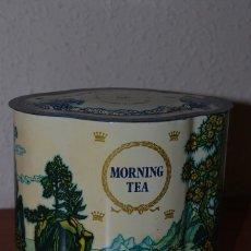 Cajas y cajitas metálicas: LATA DE TÉ JACKSONS OF PICCADILLY - LONDRES - CAJA METÁLICA - MORNING TEA. Lote 72291107
