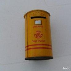Cajas y cajitas metálicas: HUCHA METALICA DE CORREOS , CAJA POSTAL . Lote 72398071