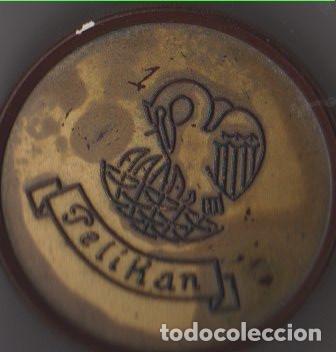ANTIGUA CAJITA PELIKAN DE BAQUELITA (Coleccionismo - Cajas y Cajitas Metálicas)