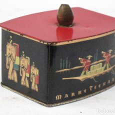 Cajas y cajitas metálicas: CAJA ANTIGUA METALICA PARA TE - MARKE / TEEKANNE.. Lote 74102787