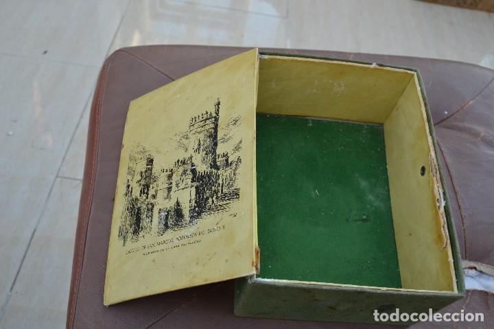 Cajas y cajitas metálicas: caja de brandy viejisimo milenario luis caballero s.a. puerto de santa maria - Foto 3 - 74482691