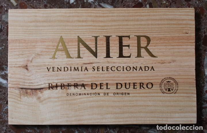 tabla madera de caja de vino decoracin bar restaurante bodega anier