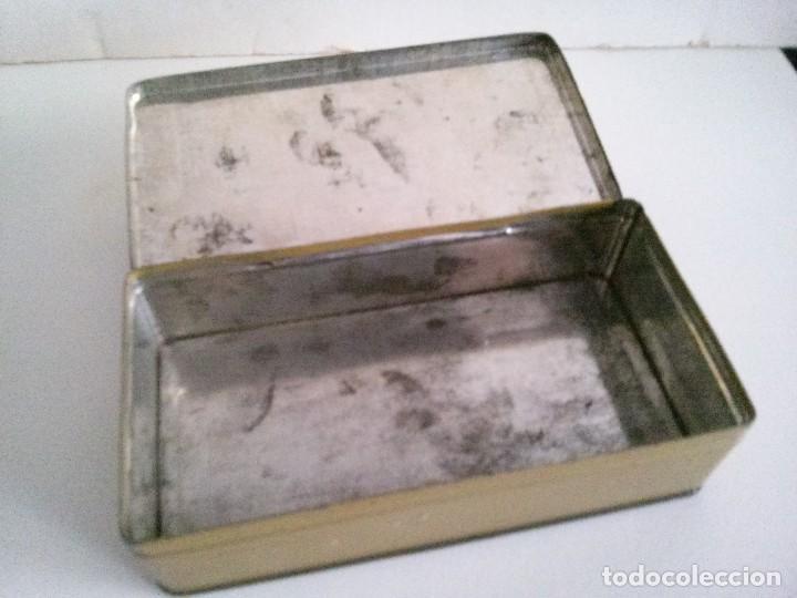 Cajas y cajitas metálicas: CAJA DE LATA O METAL DE MÁQUINA WERTHEIM - Foto 2 - 75163859