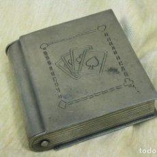 Blechdosen und Kisten - Caja estaño para baraja de cartas. - 75522499