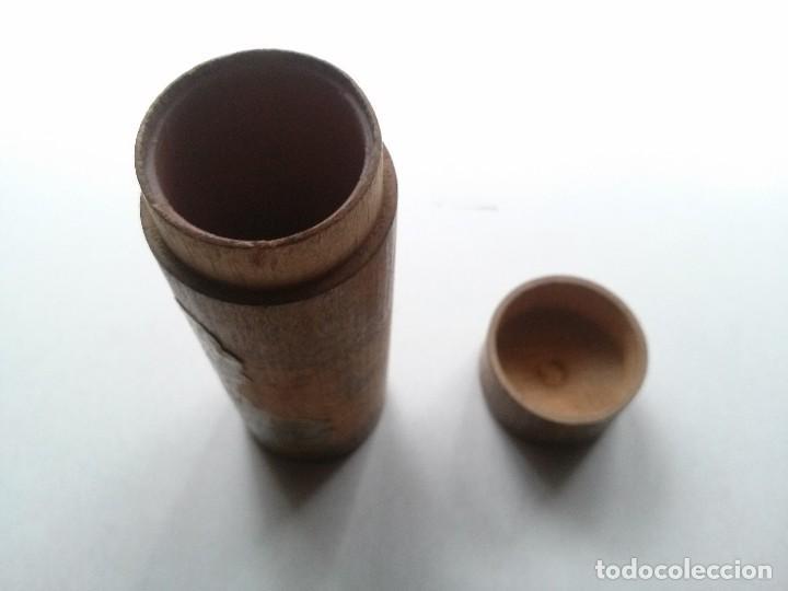 Cajas y cajitas metálicas: BOTE DE MADERA MEDICAMENTO - Foto 4 - 76047399