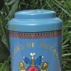Cajas y cajitas metálicas: CAJA ANTIGUA JACKSONS OF PICCADILLY. Lote 76513883