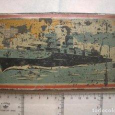 Cajas y cajitas metálicas: CAJA METÁLICA DE COLORES, VER FOTOS. Lote 76752255