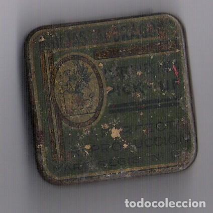 CAJA CON AGUJAS DE GRAMOFOGO **AGUJAS DRAGON ** (Coleccionismo - Cajas y Cajitas Metálicas)