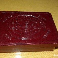Cajas y cajitas metálicas: CAJA CAJITA DE BAQUELITA DE PASTILLAS BONALD - LABORATORIO QUIMICO FARMACEUTICO - MADRID. Lote 79850877
