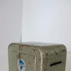 Cajas y cajitas metálicas: HUCHA , BANCO CONTINENTAL. Lote 79908217