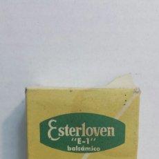 Cajas y cajitas metálicas: CAJA ANTIGUA DE FARMACIA *ESTERLOVEN* E-1. Lote 80259803