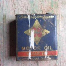 Cajas y cajitas metálicas: LATA DE ACEITE CS 5 LITROS.. Lote 80407645