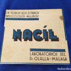 Cajas y cajitas metálicas: ** Z01 - CAJITA DE 6 AMPOLLAS INYECTABLES NACÍL DEL DR. OLALLA. Lote 81723628