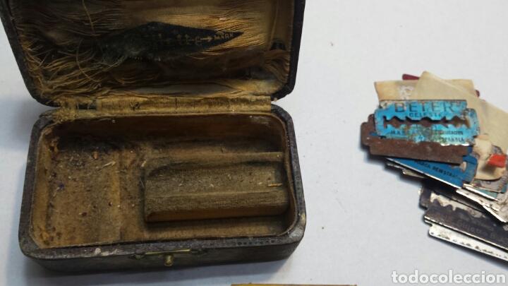 Cajas y cajitas metálicas: Cajita antigua y rara de Guillette con cuchillas - Foto 6 - 82044184