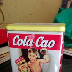 Cajas y cajitas metálicas: LATA COLA CAO. Lote 82322412