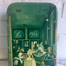 Cajas y cajitas metálicas: ANTIGUA LATA BIZCOCHOS HERNANDO GUAJARDO. Lote 82450536